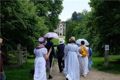 Image 3 Jane Austen Parade for Literacy at Chawton House